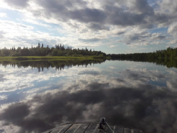 Река Поной - Рыбалка