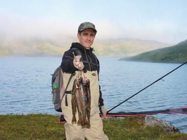Летняя рыбалка на озерах