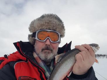 Зимняя рыбалка в Ловозерском и Кольском