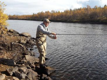 Речная рыбалка на Серебрянском водохранилище