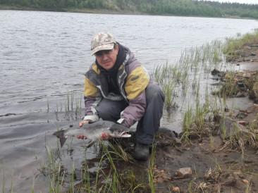 рыбалка на реке - Поной