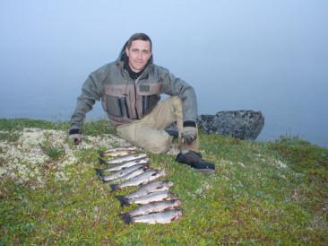 Ловля на тундровых озерах