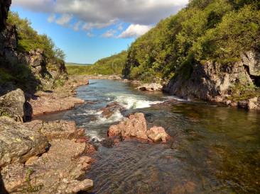 рыбалка на реке - Зарубиха